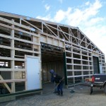 New Barn Under Construction